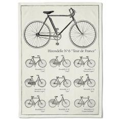 Tour de France Bikes Tea Towel