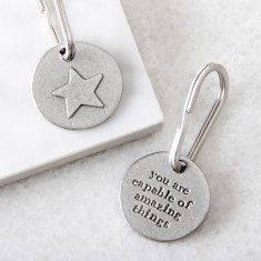 Star For Success Key ring