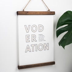Funny Vodka Definition Print