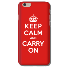 Keep Calm iPhone 5/6/7 case