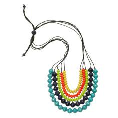 Market bazaar abacus necklace