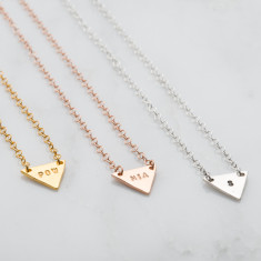 Personalised Bunting Necklace