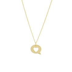 Heart Speech Bubble pendant