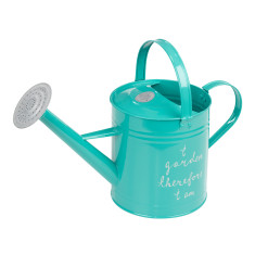 Thoughtful Gardener watering can in blue