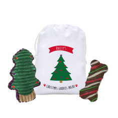 Personalised pet hamper - Christmas Tree