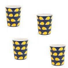Kissing Hedgehogs Melamine Cups (Set of 4)