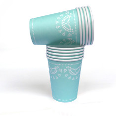 Lovely lace tiffanesque paper cups (pack of 2)