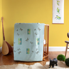 The safari cot play blanket