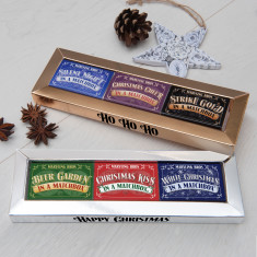 Christmas Matchbox Gift Set