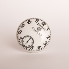 Time piece knob/drawer pull