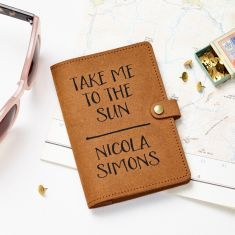Take Me To The Sun Passport Cover