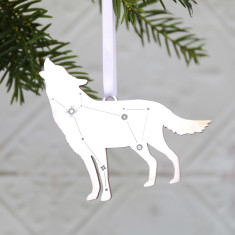 Lupus the Wolf Constellation Ornament