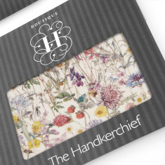 Wild Flowers a Liberty Hankies (set of 2)