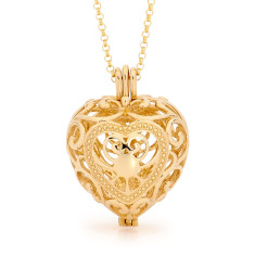 Passion Gold Perfumed  Necklace