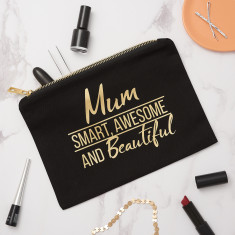 Personalised Mum Make Up Bag