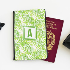 Tropical Personalised Passport Cover