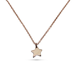 Little Star 9ct Yellow Gold Necklace