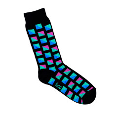 Loco coloured square socks