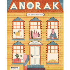 Anorak magazine subscription (quarterly for one year)