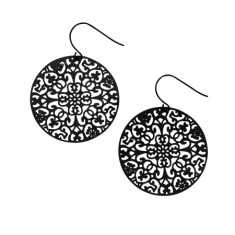 Doily dream earrings