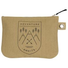 Adventure Awaits zipper pouch