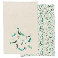 Sea Spell Tea Towels (set of 2)