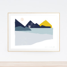 Reflection Landscape art print