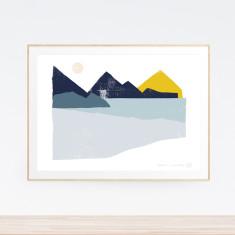 Reflection Landscape art print