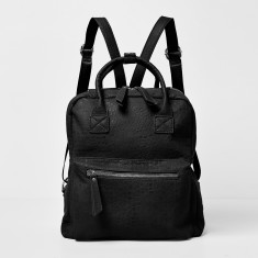 Off beat vegan leather backpack