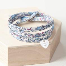 Liberty wrap charm bracelet