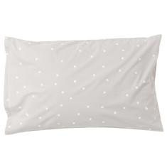 White sprinkle sprinkle pillowcase