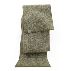 Mahjong - extra fine Merino wool scarf