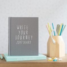 Diary 2017 Write Your Journey