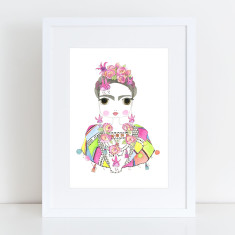 Frida Limited Edition Fine Art Print