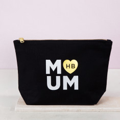 Personalised Metallic Mother's Day Cosmetic Bag