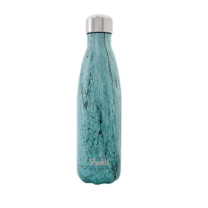S'well insulated stainless steel bottle in Wood Tealwood (multiple sizes)