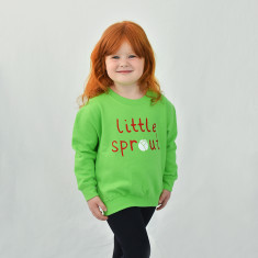 Little Sprout Children's Christmas Sweatshirt Jumper