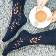 Personalised Botanical Socks