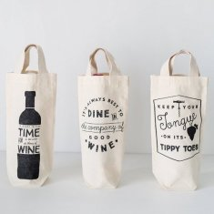 Wine totes (various designs)