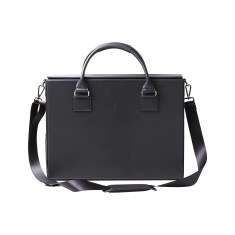 Slaint Leather Briefcase with Charger
