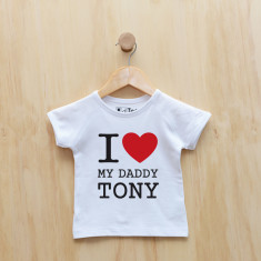 Personalised I love my t-shirt