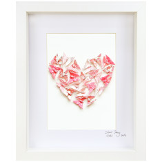 Love Heart Framed Artwork