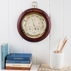 Personalised Wooden weather forecast dial