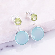 Sweetie double drop earrings