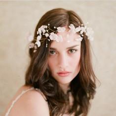 Beautiful flowers headdress