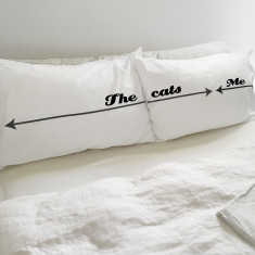 Me / The Cat / You Pillowcase Set