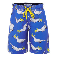 Boys' cockatoo boardshorts