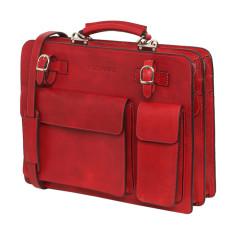 Munich Red briefcase