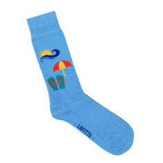 Lafitte beach time socks