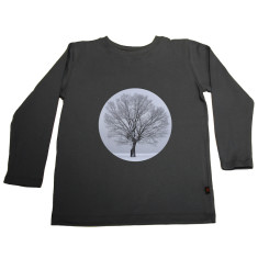 Snow tree long sleeve